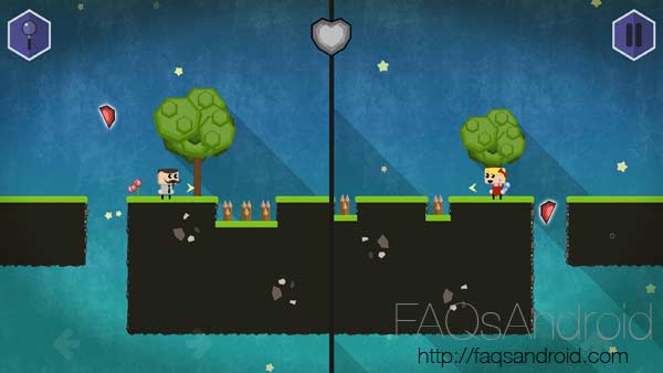 Siempre juntos, puzles dobles a pantalla partida con una pizca de romanticismo