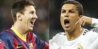Wallpapers de Ronaldo y Messi
