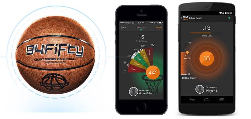 La pelota de baloncesto geek