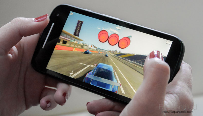 Motorola Moto E 4G juegos