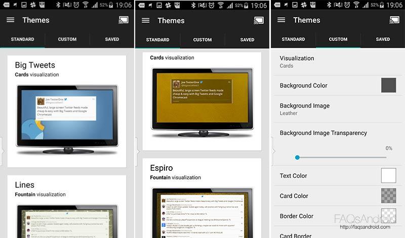 Big Tweets, la aplicación para Chromecast con la que ver Twitter en la tele