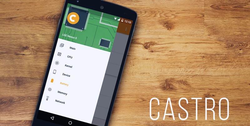 Comprueba las características de tu Android con Castro