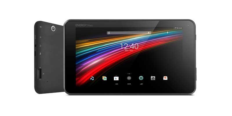 Energy Tablet 7 Neo 2, 7 Neo 2 Lite, 10.1 Neo 2 y 10.1 Neo 2 3G
