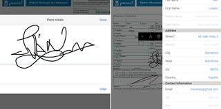Firma documentos directamente en Android
