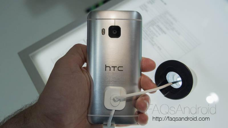 HTC One M9: primera toma de contacto en el MWC15