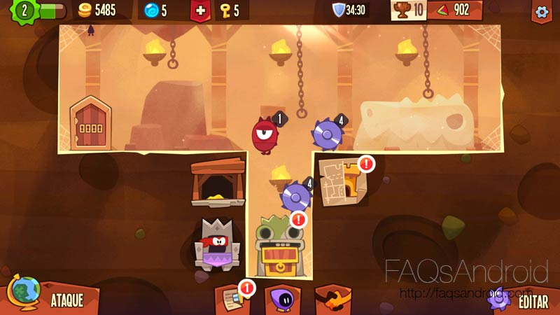 King of Thieves, juego de ladrones con modo multijugador