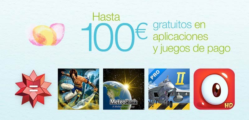 100 euros en apps y juegos gratis con Amazon: Plants vs Zombies, Osmos HD...