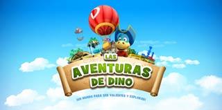Las aventuras de Dino, aplicación para niños de Danonino