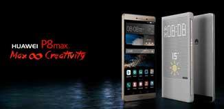 Huawei P8max y Huawei P8 Lite