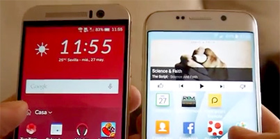 Galaxy S6 Edge vs HTC One M9