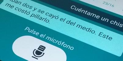 Asistentes por voz en Android