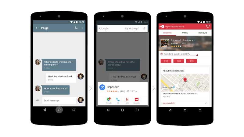 Google Now on Tap: el asistente ahora muestra información contextual