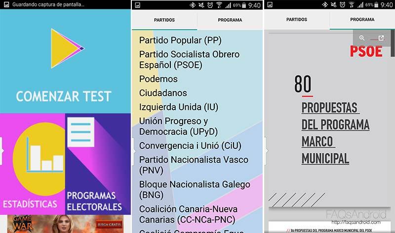 ¿No sabes si votar a Podemos, Ciudadanos, PSOE, PP...? Esta app te lo dice