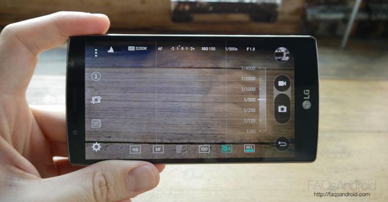 Software en el LG G4