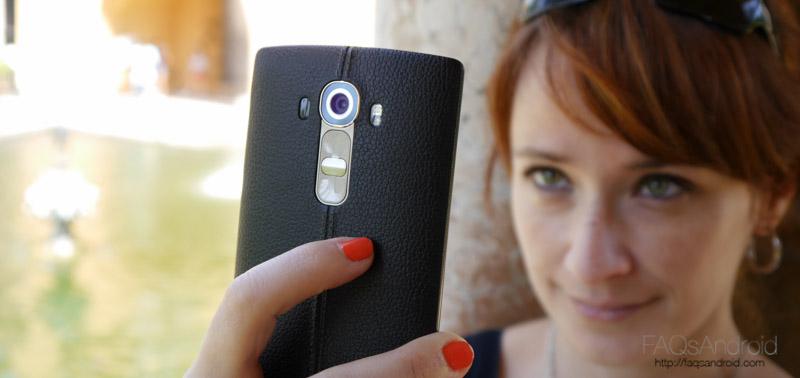 Trucos para la cámara del LG G4