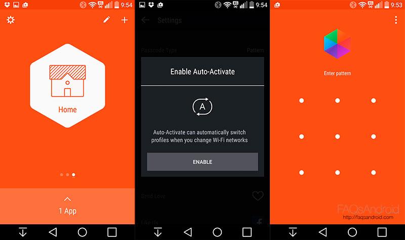 Pon contraseñas a tus apps android con Hexlock