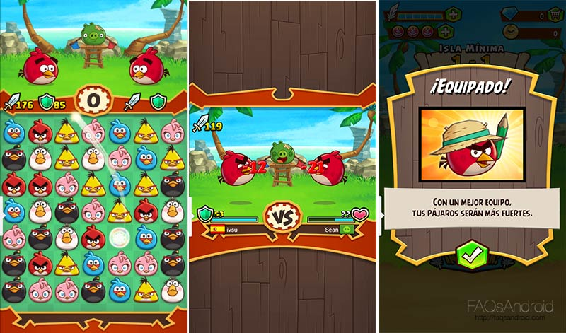 Angry Birds Fight! el Candy Crush de lucha marca Rovio