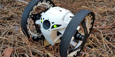 Review del Parrot Jumping Sumo