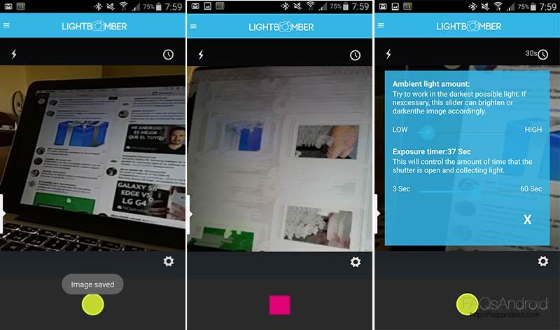 Pintura con luz en Android