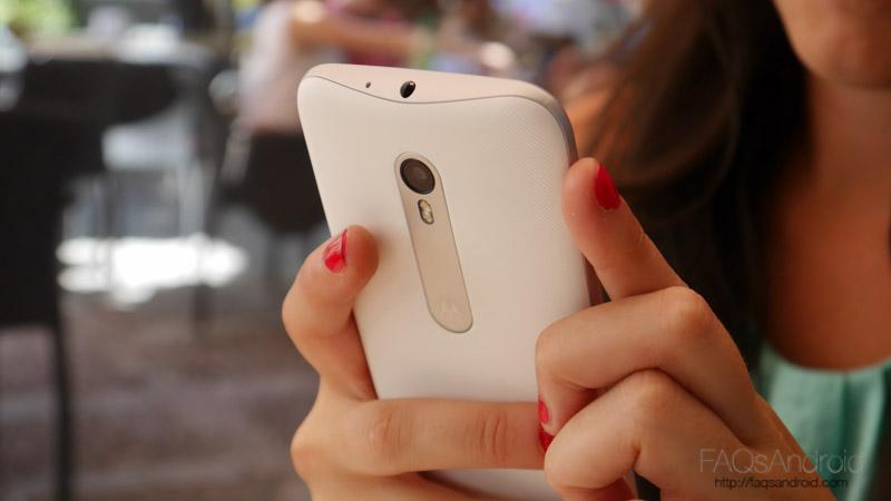 Motorola Moto G de tercera generación y 16 GB