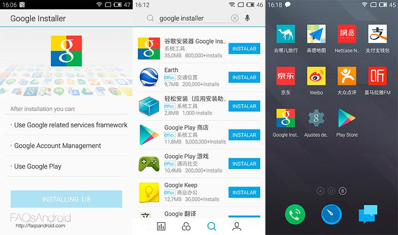 Cómo instalar Google Play Store en el Meizu M2 Note 4G