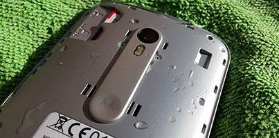 Motorola Moto G 2015: problemas con agua