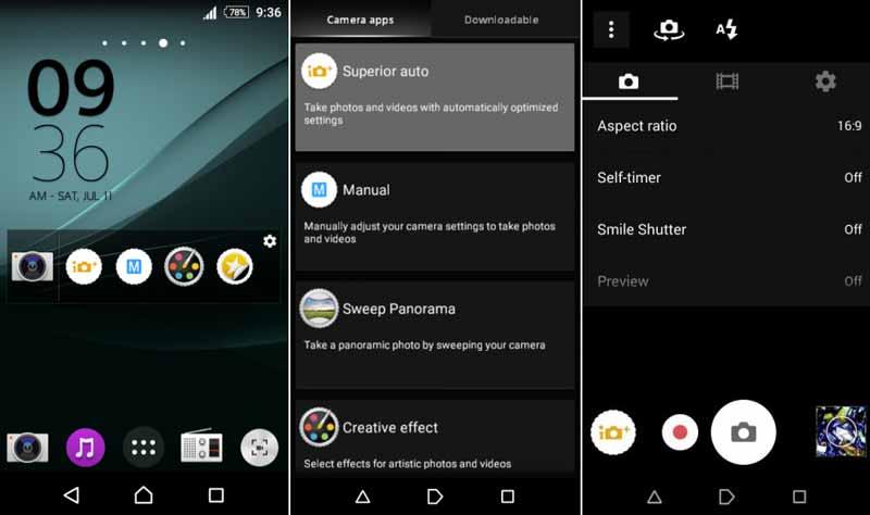 Instala la cámara del Sony Xperia Z4 en los Xperia M, V y SP con CyanogenMod