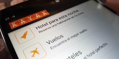 Busca hoteles, vuelos y más desde el móvil con Kayak para Android