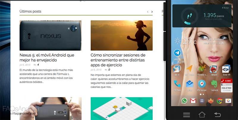 Mobizen para móviles Samsung