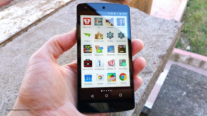 Nexus 5: el móvil Android que mejor ha envejecido