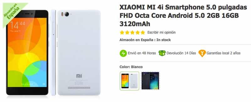 Xiaomi Mi4i en GeekVida