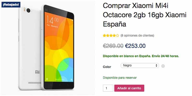 Xiaomi Mi4i en Zascamovil
