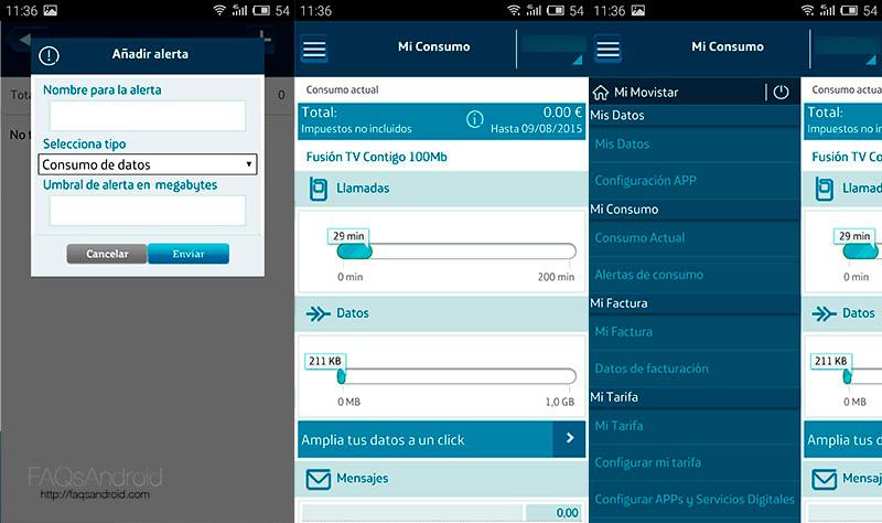 Mi Movistar: análisis de la aplicación para Android
