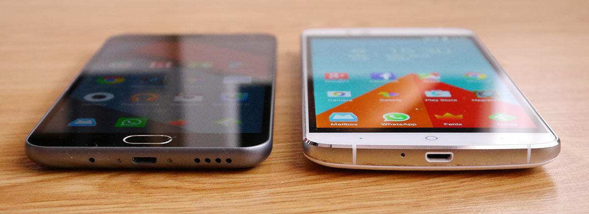 Elephone P8000 vs Meizu M2 Note: los comparamos a fondo