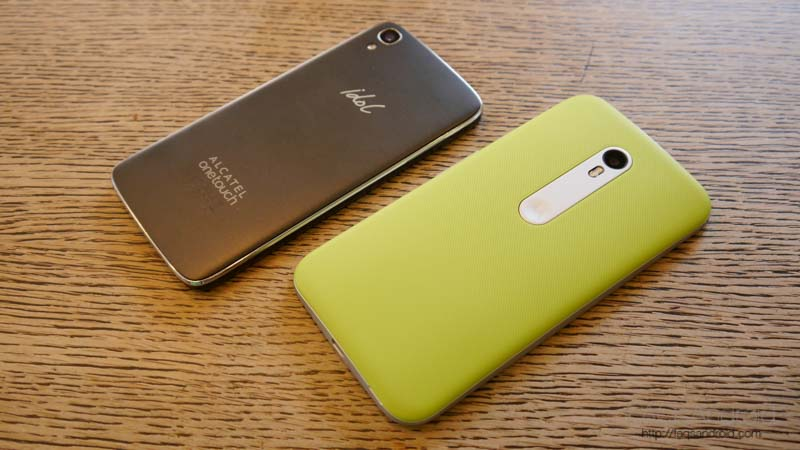 "Alcatel One Touch Idol 3 4.7"" vs Motorola Moto G 2015: comparativa en vídeo"