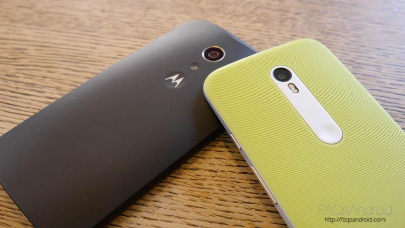 Comparativa del Motorola Moto G 2015 vs Moto G 2014
