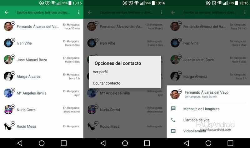 Todo sobre Google Hangouts 4.0 para Android