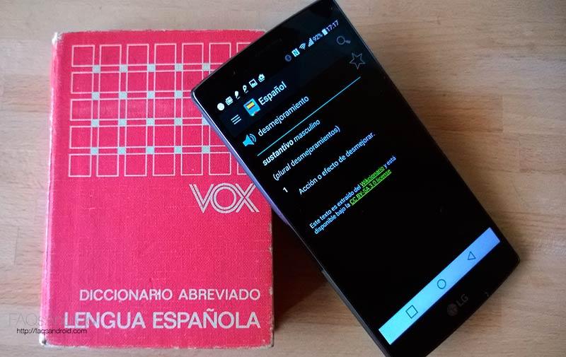 3 apps de diccionarios offline en Google Play