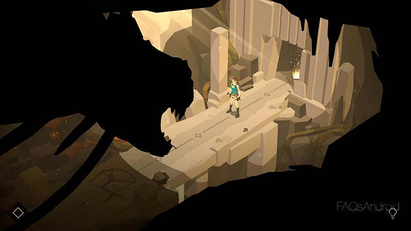 Lara Croft Go, acción y arqueología a lo Monument Valley