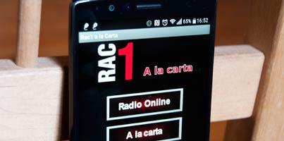 RAC1 a la carta