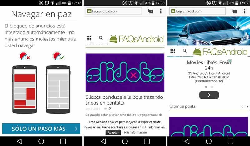 Adblock Browser para Android: un navegador para bloquearlos a todos... los anuncios