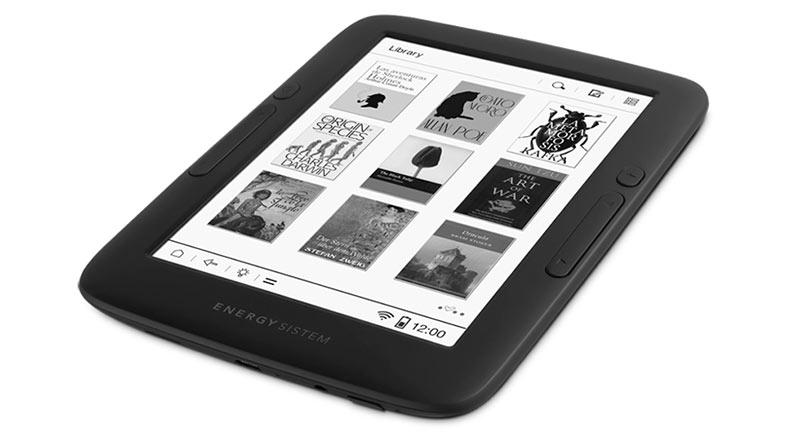 Energy EReader Pro +: un libro electrónico con Android