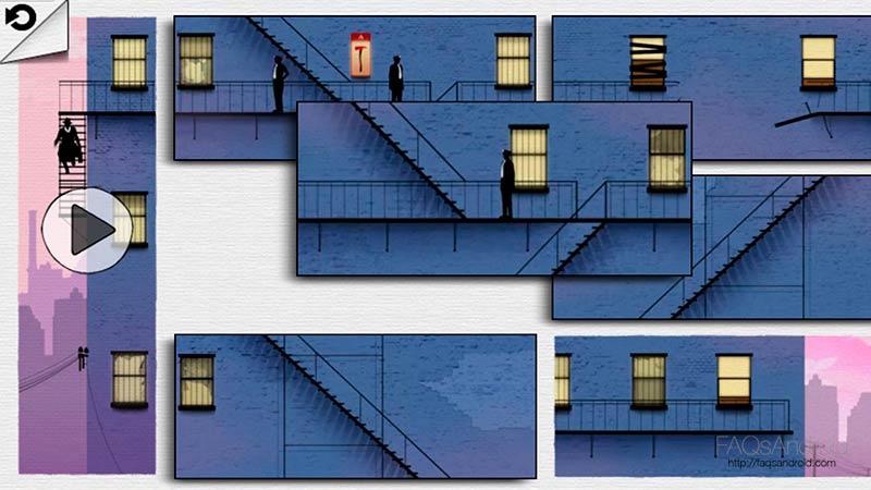 Framed, construye la historia con piezas de puzles animadas