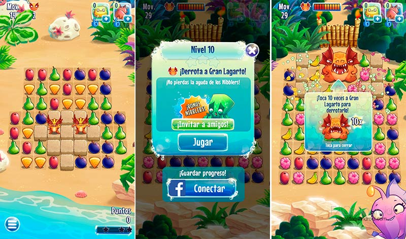 Nibblers, el Candy Crush Saga de Rovio