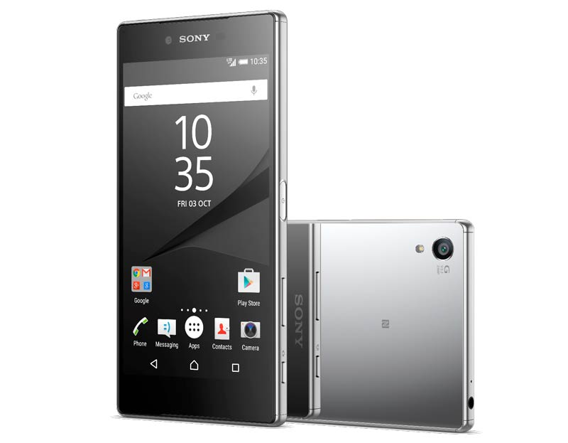Pantalla 4K en el Sony Xperia Z5 Premium
