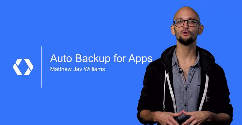 Auto backup de aplicaciones en Marshmallow