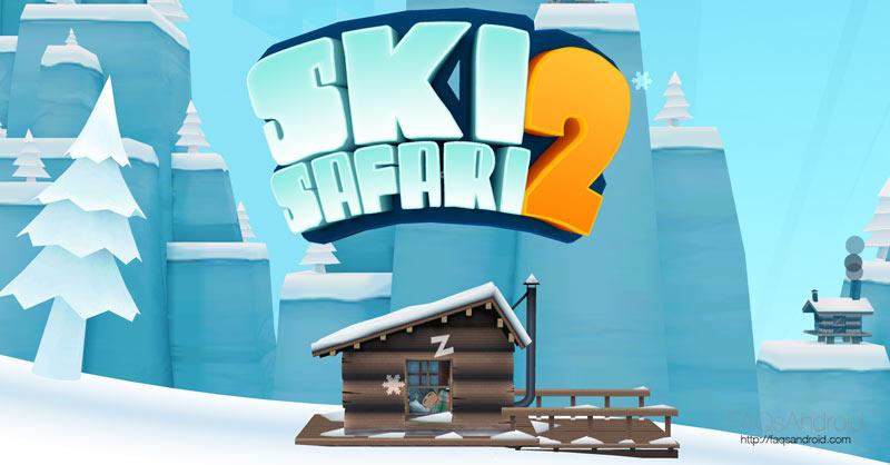 Ski Safari 2, el juego de esquiar sin fin aún más completo