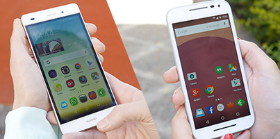 Huawei P8 Lite vs Motorola Moto G 2015