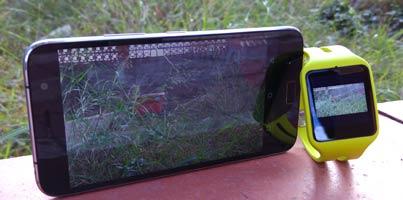 Aplicaciones de cámara para fotografiar desde el Smartwatch