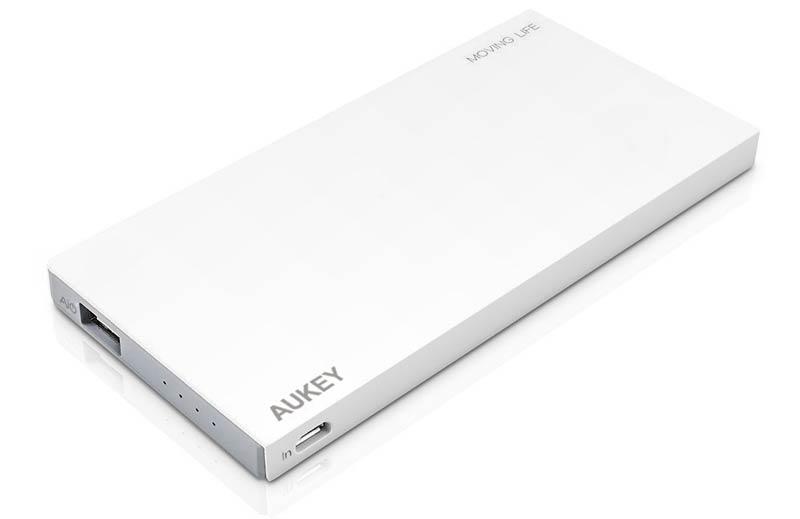 Batería externa Aukey de 8000 mAh